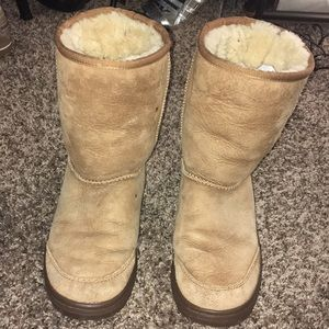UGG Tan Winter Boots